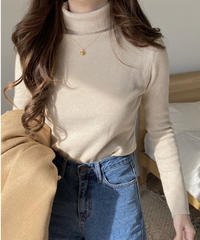 《予約販売》rib turtleneck (3color)