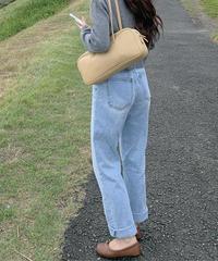 《予約販売》semi wide high waist denim