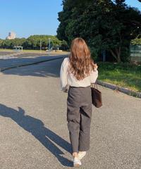 《予約販売》a/w ver. romantic chino pants (2color)