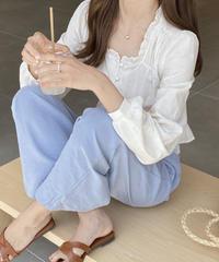 《予約販売》lily blouse (3color)