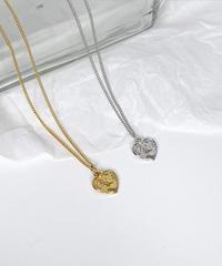 elizabeth heart necklace (2color)