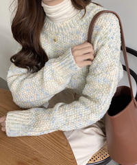 《予約販売》candy knit (3color)
