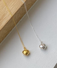 《予約販売》silver925 heart necklace (2color)