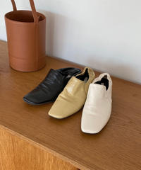 《予約販売》gather heal loafer (3color)