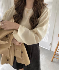 《予約販売》need blouse (2color)