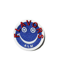 ALM  × TFD®︎ /  FLAVORS Smiley Patch