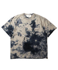 Anachronorm / Pigment Tie Dye T-Shirt / Top Gray