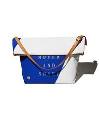 Sunset Craftsman Co. / Pine Shoulder Bag (M) / TFD®︎ Blue x White