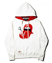 glamb / The Rolling Stones Hoodie / White