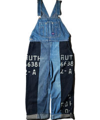Varde77 / Denim Mix Overall / One Color