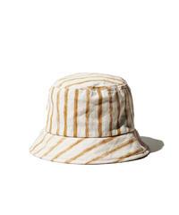 DECHO / Hand Paint Shima Hat by SCC / Beige