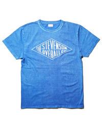 Stevenson Overall Co. / Graphic T-shirt Daimond / Blue