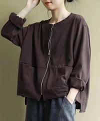 長袖 コート オフホワイト