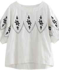 ラウンドネック||Tシャツ