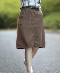 亜麻ナチュラルスカート