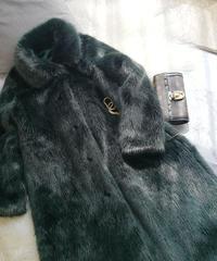 秋冬のファーコート ぬいぐるみコート