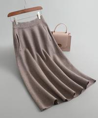 大人気!   秋と冬   ウール     スカート