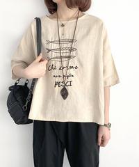 刺しゅう||Tシャツ