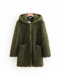 ぬいぐるみコート(绿)