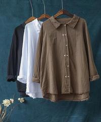 カジュアルのコットンシャツ