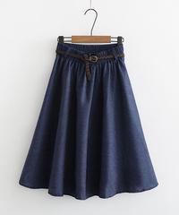 デニム||スカート