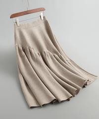 秋と冬   ウール    フリルギャザー    じゅんいろ     スカート