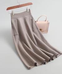 ウール    秋と冬     スカート