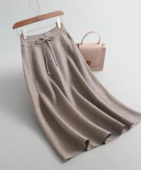 秋と冬   ウール    じゅんいろ     スカート