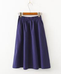 綿麻||スカート
