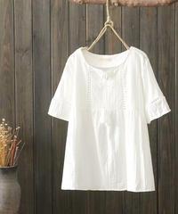 ホワイト||Tシャツ
