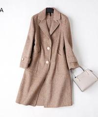 秋冬のウールアウター ウールコート   全7色