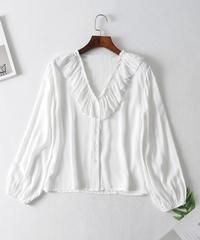 シンプル   長袖シャツ