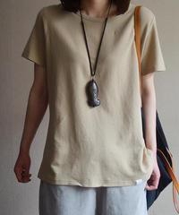 じゅんいろ      ラウンドネック     Tシャツ