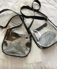 透明なpvcショルダーバッグ