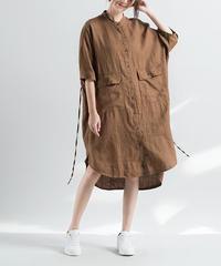 ファッション *リネンワンピース