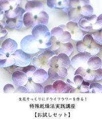特殊乾燥法実践講座【お試しセット】