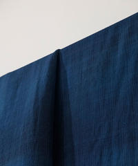 西表島で染めたシルクオルガンザ 藍の布 藍 8564mv