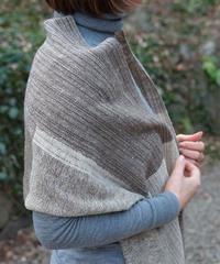 マフラー 混紡マフラーつづら織り 4317C