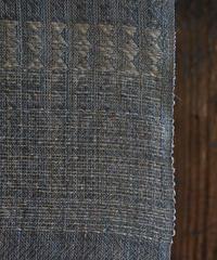 墨染苧麻 細巾反物 ブルーグレー 9925SG