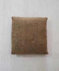 タッサーナシ生地のクッション   中綿付き