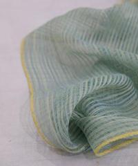 ストール ずり出し空羽 細巾 緑 1247YGr
