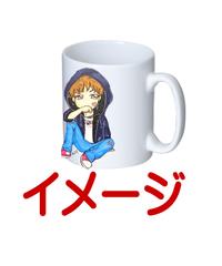 【MaycAS!!Pちゃんホワイトマグカップ②】マグカップ