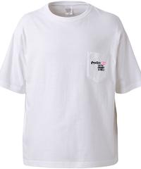 【まやデザインシリーズKISS④】ビックシルエットポケットTシャツ