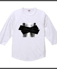 【シェーン・レーヴェ/七分袖Tシャツ】eye②!ラグラン七分丈Tシャツ|00138-RBB|PrintStar