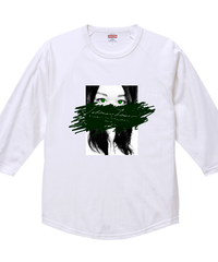 【シェーン・レーヴェ/七分袖Tシャツ】eye④!ラグラン七分丈Tシャツ|00138-RBB|PrintStar