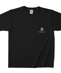 【シェーン・レーヴェ/前ポケットTシャツ】スペード+お好きなアルファベット1文字!  マックスウェイトポケットTシャツ|OE1117|TRUSS