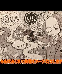 ライブコマース【クリエイター・バニ子】線画原画「A3サイズ」244