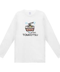MAYA画伯【じぃじトンコツ①】ヘビーウェイト長袖Tシャツ|00102-CVL|Printst