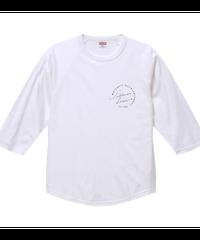【シェーン・レーヴェ/七分袖Tシャツ】両面デザイン!ラグラン七分丈Tシャツ|00138-RBB|PrintStar