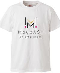 【メイキャス!ロゴ】ハイクオリティーTシャツ